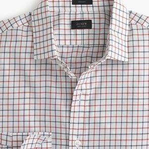 NEW - J.Crew Tattersall Button Down - BLUE CHECK